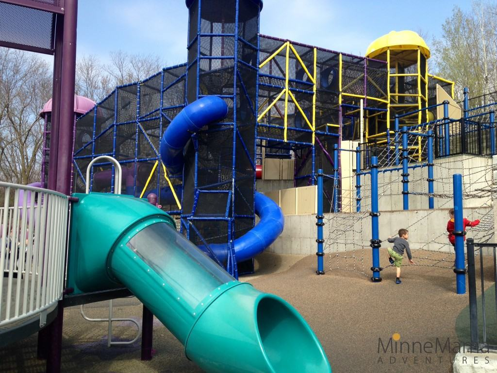 Outdoor Play Bloomington  Chutes and Ladders Park