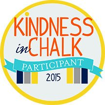 Kindness in Chalk Participant Badge