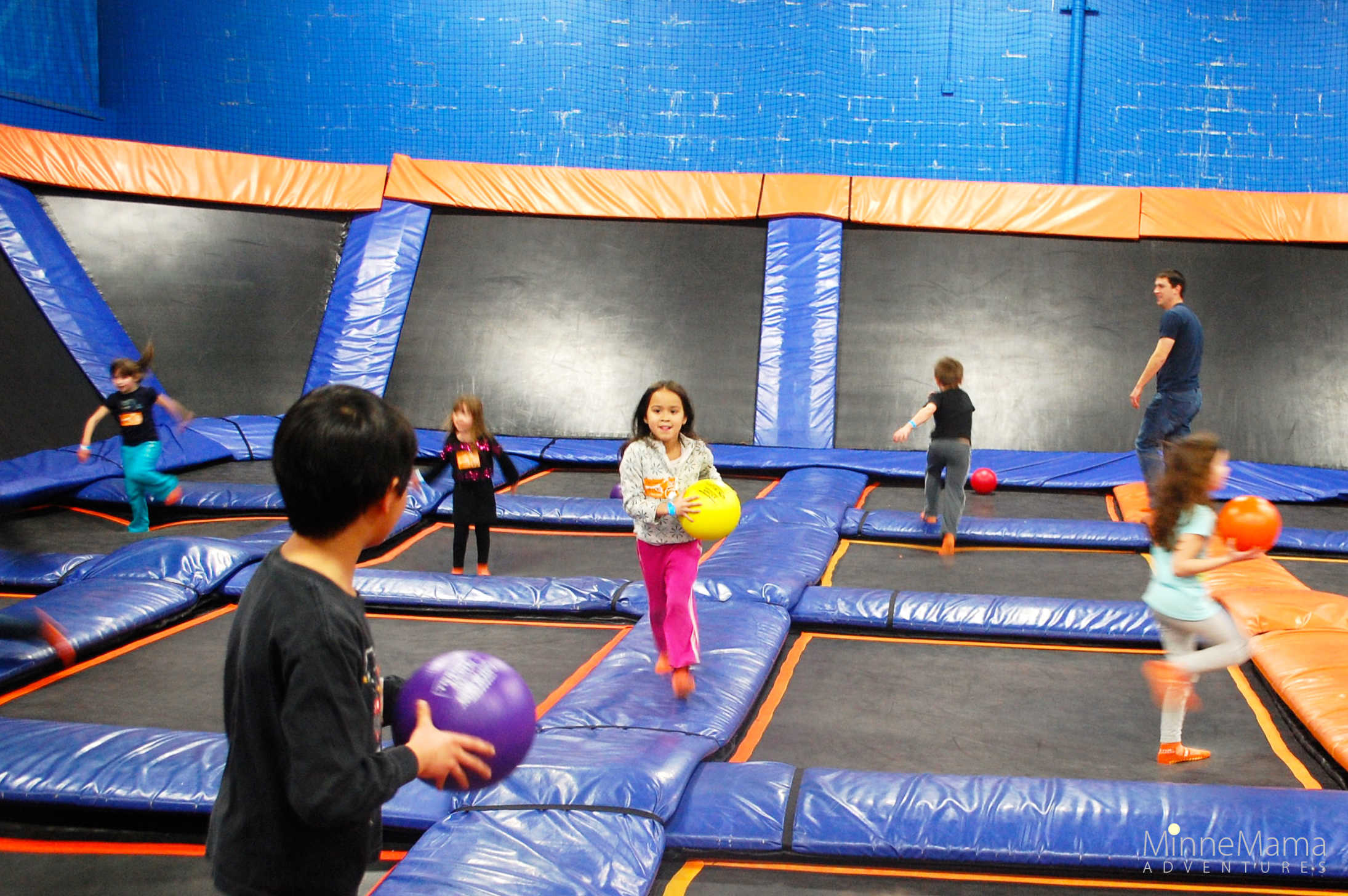 Sky Zone Trampoline Park Above And Beyond