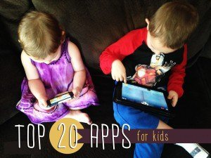 Top 20 apps for kids