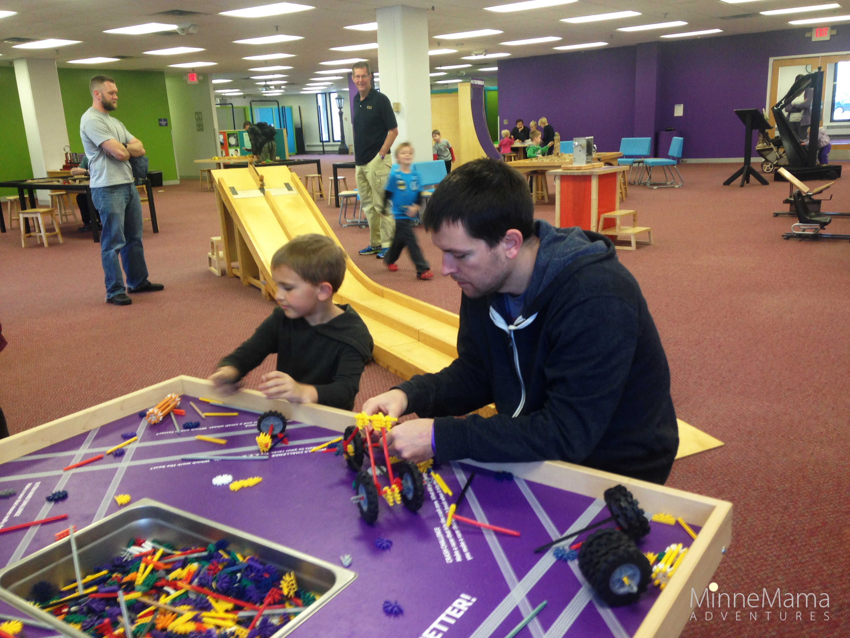 The Works Museum: Hands-on Fun for Little Engineers
