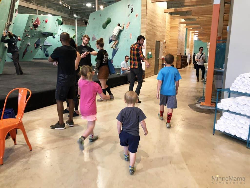 Minneapolis Bouldering Project