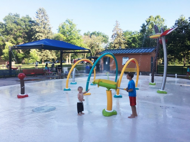 Oak Hill Park and Splash Pad