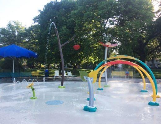 oak hill park and splash pad